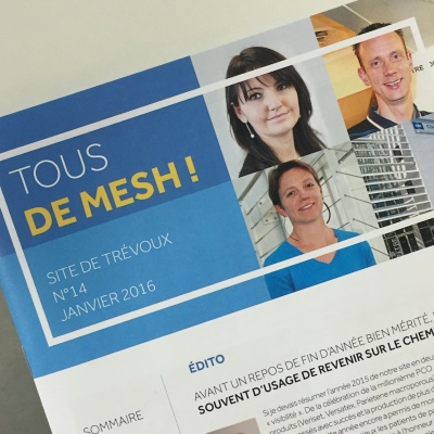 Medtronic journal interne du site R&D de Trévoux